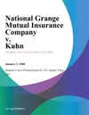 National Grange Mutual Insurance Company V Kuhn