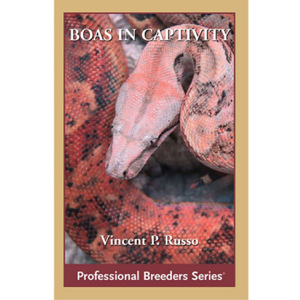 Boa Constrictors in Captivity Boekomslag