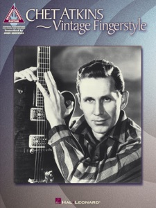 Chet Atkins - Vintage Fingerstyle (Songbook) Book Cover