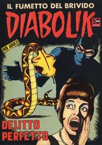 Diabolik #18 Book Cover