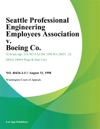 Seattle Professional Engineering Employees Association V Boeing Co
