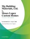 Mg Building Materials