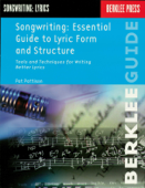Songwriting: Essential Guide to Lyric Form and Structure Book Cover