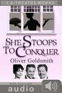She Stoops to Conquer (with audio) Libro Cover