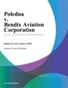Poledna V Bendix Aviation Corporation