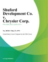 Shuford Development Co V Chrysler Corp