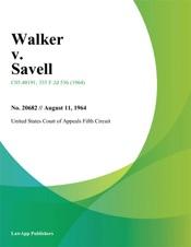 Download Walker v. Savell