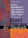 A Study Guide For Eskia Mphahleles Aka Ezekiel Mphahleles Mrs Plum