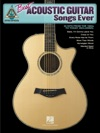 Best Acoustic Guitar Songs Ever Songbook
