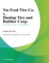Nu-Tred Tire Co V Dunlop Tire And Rubber Corp