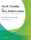 111094 Joe D Trembly V Mrs Fields Cookies