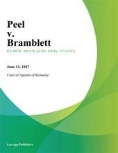 Peel V. Bramblett
