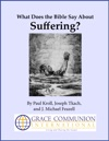 What Does The Bible Say About Suffering