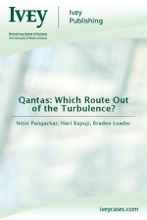 Qantas: Which Route Out Of The Turbulence?