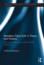 Monetary Policy Rule In Theory And Practice