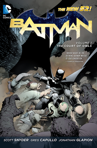 Batman Vol 1: The Court of Owls