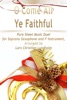 O Come All Ye Faithful Pure Sheet Music Duet For Soprano Saxophone And F Instrument, Arranged By Lars Christian Lundholm