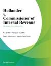 Hollander V Commissioner Of Internal Revenue