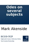Odes On Several Subjects
