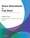 Helen Doboshinski V Fuji Bank