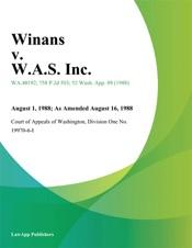 Download Winans v. W.A.S. Inc.