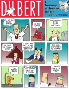 Dilbert - A Treasury Of Sunday Strips: Version 00 Book Cover