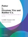 Potter V Firestone Tire And Rubber Co