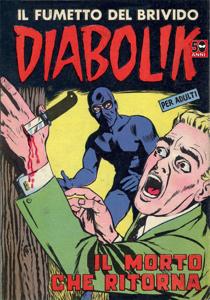 Diabolik #13 Libro Cover