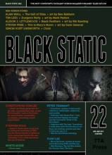 Black Static #22 Horror Magazine