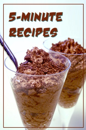 5-Minute Recipes book cover