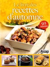 Le livre des recettes d'automne