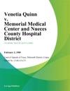 Venetia Quinn V Memorial Medical Center And Nueces County Hospital District