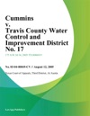 Cummins V Travis County Water Control And Improvement District No 17