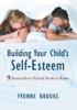 Building Your Child's Self-Esteem - Yvonne Brooks