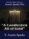 A Candlestick All Of Gold