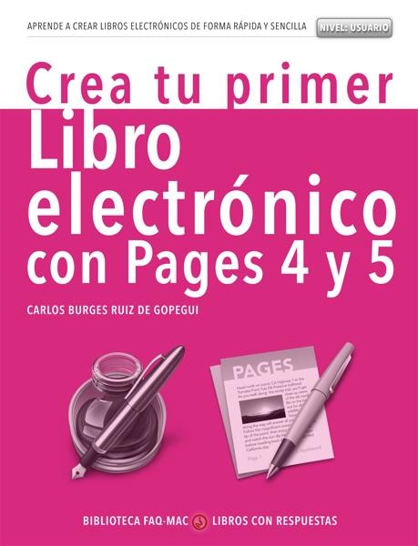 Crea tu primer libro electrónico con Pages