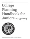 College Planning Handbook For Juniors 2013-2014