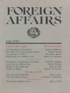 Foreign Affairs - Fall 1989