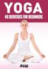 Sophie Godard - Yoga: 40 Exercises for Beginners artwork