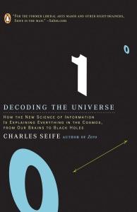 Decoding the Universe de Charles Seife Capa de livro