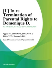 [U] In Re Termination Of Parental Rights To Domenique D.