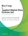 Rca Corp V Applied Digital Data Systems Inc