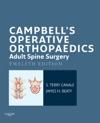 Campbells Operative Orthopaedics Adult Spine Surgery
