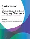 Austin Nestor V Consolidated Edison Company New York