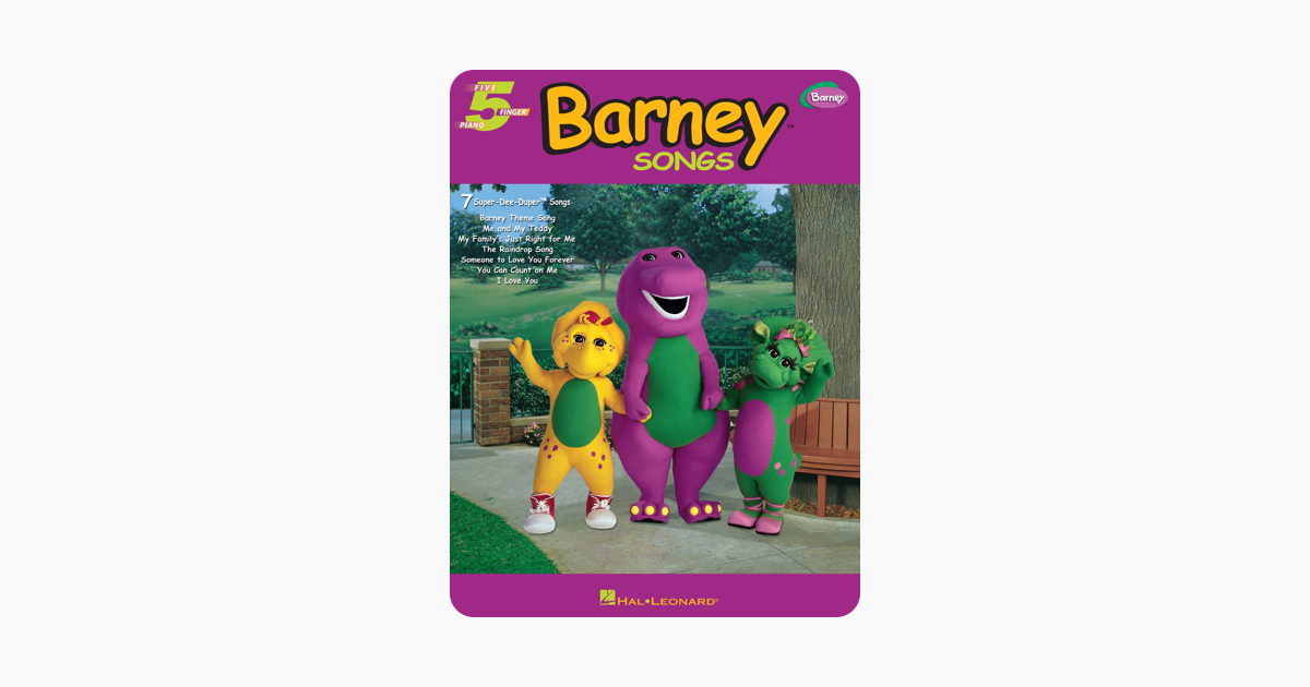 ‎Barney Songs (Songbook)