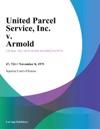United Parcel Service Inc V Armold