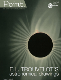 NYPL Point: E.L. Trouvelot's Astronomical Drawings book