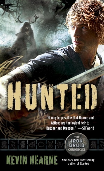 Hunted - Kevin Hearne book cover