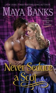 Never Seduce a Scot Book Cover