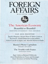 Foreign Affairs - May/June 1998